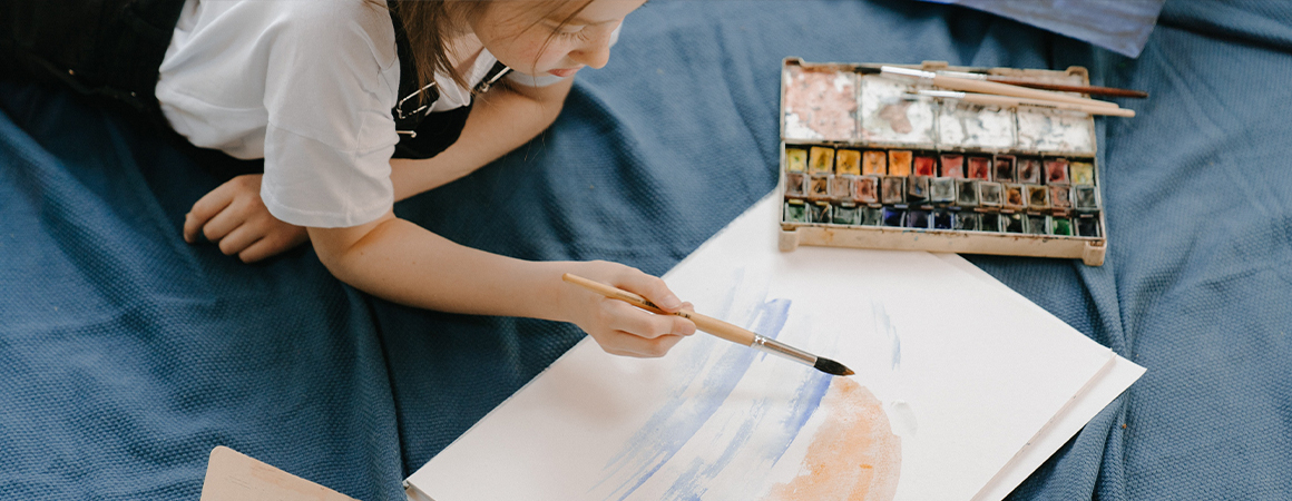 How to help your 'un-arty' child to be an artist